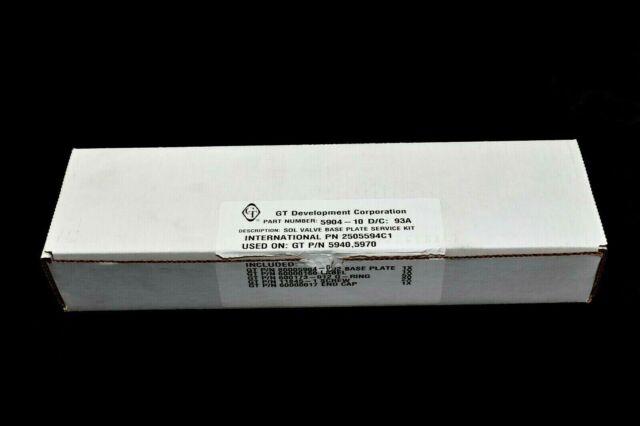 International Navistar 2505594C1 Solenoid Valve Base Plate Bracket Service Kit