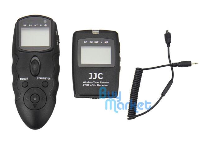 JJC WT-868 Wireless Timer Remote w/ CABLE R for Fujifilm X-Pro2 X70 X-T10 etc.