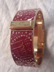 Henri Bendel 1895 Stars Crystals Enamel Bangle Bracelet Nwt Ebay