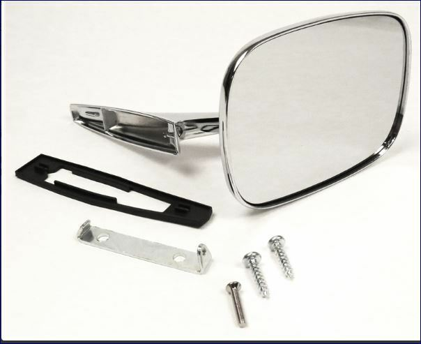 Melchioni 331550266/Car Mirror Wide Angle Bottom Right Chrome