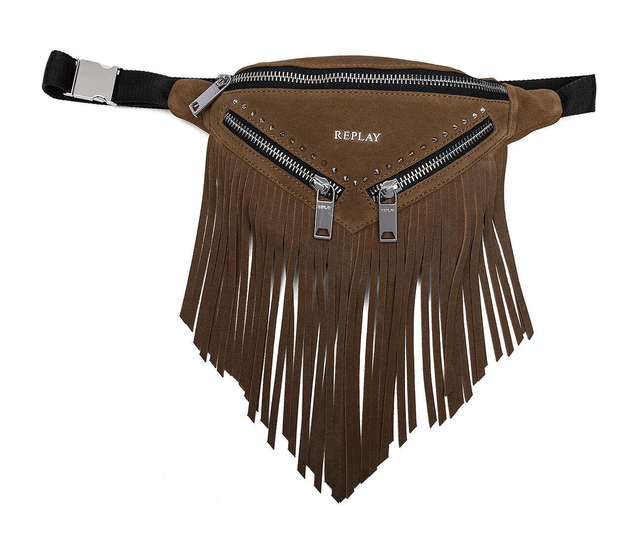 REPLAY Belt Belt Belt Bag Gürteltasche Tasche Amber braun Braun Neu     | Qualität und Verbraucher an erster Stelle  | In hohem Grade geschätzt und weit vertrautes herein und heraus  | Günstige Preise  0fd765