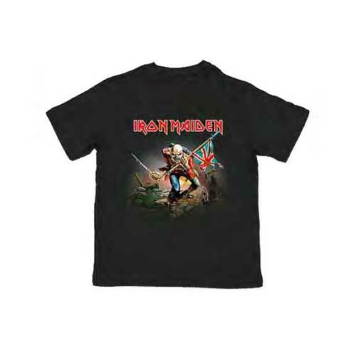 Iron Maiden The Trooper Heavy Metal Music Youth T Shirt