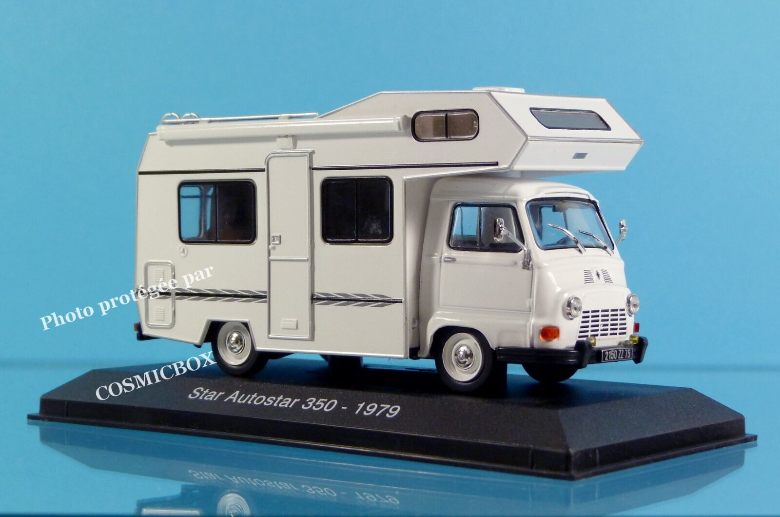 Camping car STAR AUTOSTAR 350 de 1979 moteur Renault estafette capucine caravane