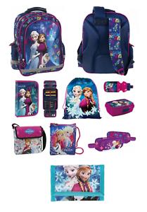 SET 9TLG DIE EISKÖNIGIN Disney Frozen SCHULRANZEN Mädchen TURNBEUTEL Federmappe
