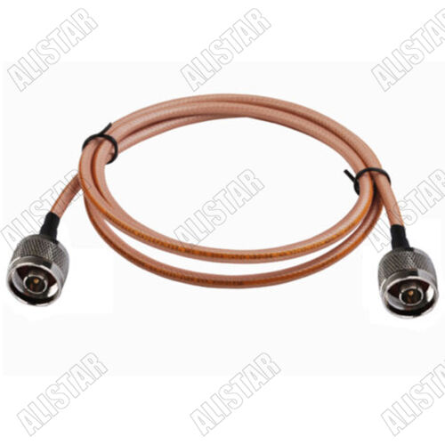 3FT N-Type Male to N Male Plug Connector WiFi Adapter RF Pigtail Cable RG142 1M
