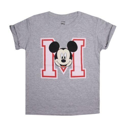 DISNEY-TOPOLINO Bambine Bambini T-Shirt Tee-età 7-14 anni