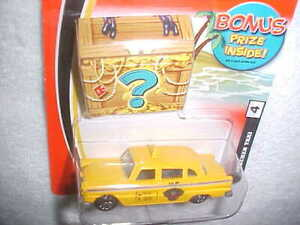 """MATCHBOX """"CHECKER TAXI"""" VHTF NEW DIE CAST CLASSIC TAXI CAB with BONUS PRIZE"""