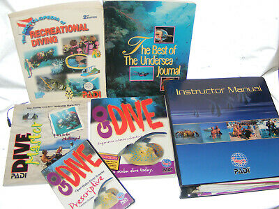 6 Padi Dive Manual And Tables Scuba