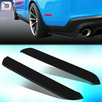 DNA Motoring BPLIP-0010 Pair Rear Bumper Corner Side Splitters Lips Body Kit