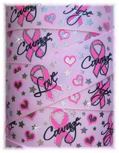 1-5-BREAST-CANCER-AWARENESS-BLING-GROSGRAIN-RIBBON-PK