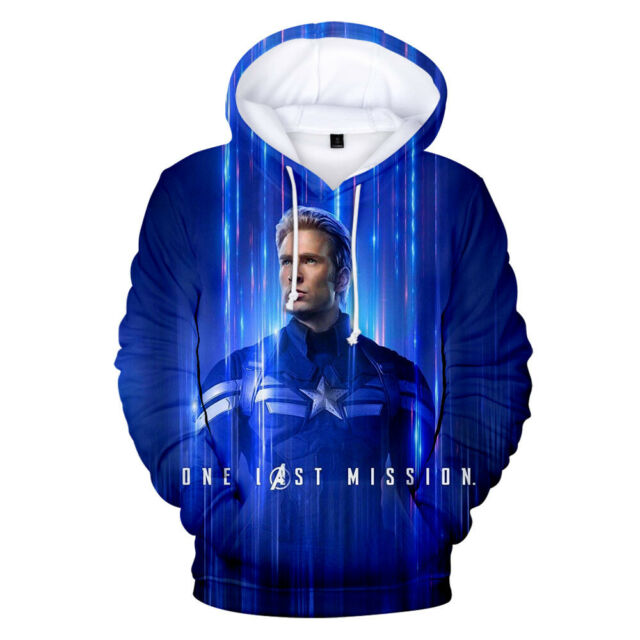 Avengers 4 Endgame Advanced Tech Hoodies Sweatshirt Cosplay Sweater Jacket Coats