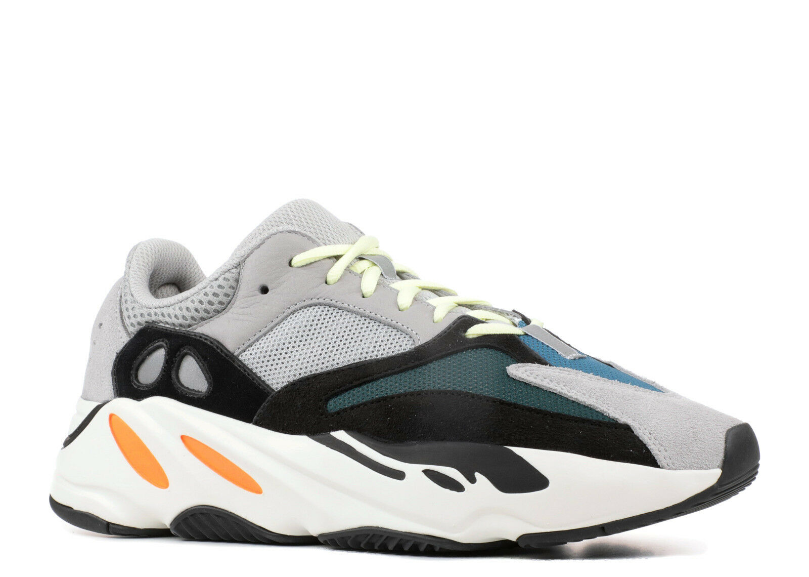 Adidas Yeezy Boost 700 Wave Runner Og Gris Noir Orange UK 10.5 US 11 EU 45 1/3
