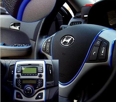 2 meters long-Molding Decoration Trim Universal Fits Car Interior Exterior Blue