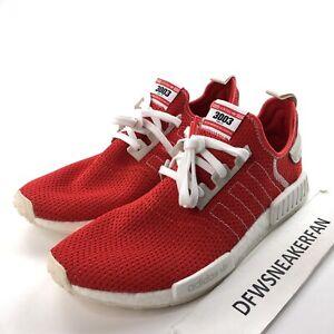 Adidas nmd R1 Men's 14 Active Red/Ecru