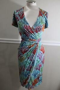 NWT-Issa-London-Women-039-s-Jersey-Ice-Viscose-Wrap-Dress-Size-4-900