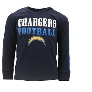 e15068b3 Details about Los Angeles Chargers Official NFL Apparel Kids Youth Size  Long Sleeve Shirt New