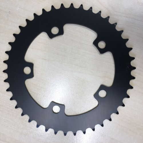 42T BCD:110 Chainring Chain Ring BMX Track Fixie Road Single Speed Bike black