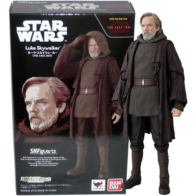Beai  Tamashii Limited S.H.Figuarts estrella guerras Luke cielowalker (The Last Jedi)  promozioni di squadra