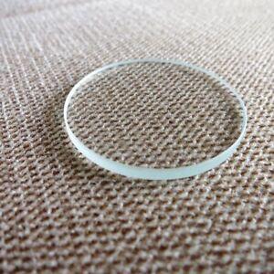 F8912-Vetro-dell-039-orologio-piatto-minerale-3-0mm-di-spessore-Diametro-27mm-45mm