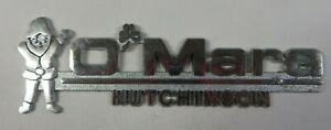 Car Dealerships In Hutchinson Ks >> Details About Vintage O Mara Motors Car Dealership Emblem Tag Metal Hutchinson Kansas