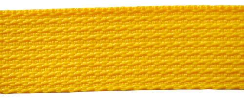 4 m Gurtband 38 mm breit für Taschen Gürtel Leinen 10 verschiedene Farben