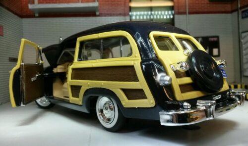 G lgb 1:24 scale 1949 ford woody wagon motormax model molded 73260 car