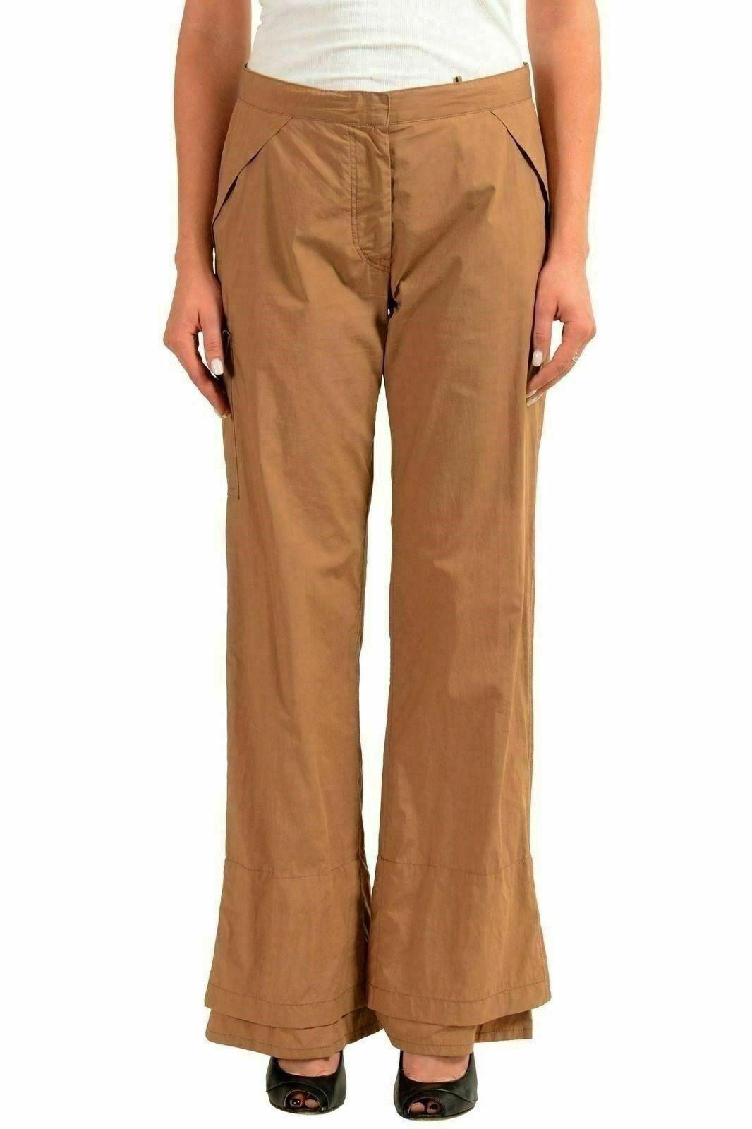 Jil Sander women brown Pantaloni Casual USA 0