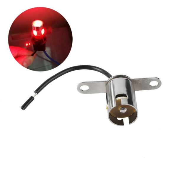 1156 BA15S LED Light Bulb Socket Holder With Wire Connector for Car Truck HOT!