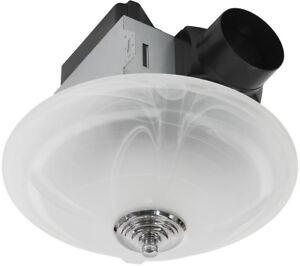 Bathroom Fan Light Combo Exhaust Ventilation 80 CFM ...