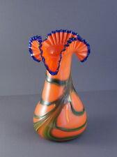 Jugendstil / Art deco Vase um 1920 / 1930 - Tangoglas wohl Kralik  (# 4629)