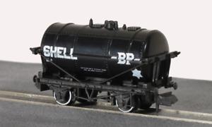 Peco-NR-P160-N-Gauge-Petrol-Tank-Wagon-Shell-BP