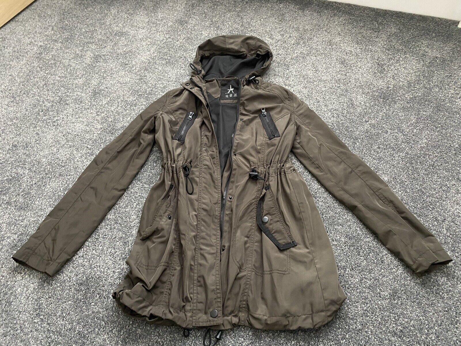 Primark Atmosphere Khaki Anorak Lightweight Jacket Size 6