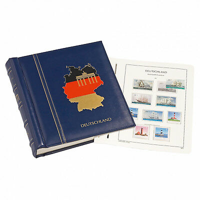 Leuchtturm Sf-vordruckalbum Bundesrepublik Band Iii 1995-2004 Blau 318189 Dauerhafter Service