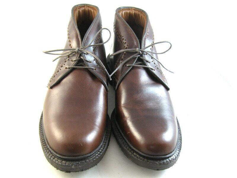 Allen Edmonds  BELLEVUE  botas 9 D Marrón (989)