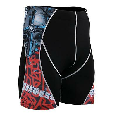 FIXGEAR P2S-B73 Compression Shorts Skin Tights MMA Fitness GYM Yoga Workout