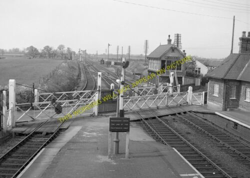 Burgh to Spilsby 11 Firsby Railway Station Photo Steeping and Skegness Line.