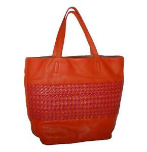 dfc6bb487c83 Women s Tote Purse Pebbled Leather Stripe Shoulder Woven Dkny Handbag Bag  New PHSqPFTZ