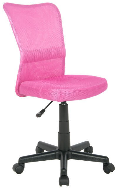 SixBros. Bürostuhl Drehtstuhl Schreibtischstuhl Pink H-298F/1412