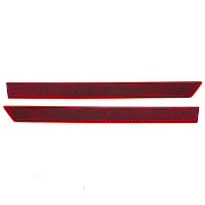 2015 2016 Ford Mustang Left Driver Side Rear Bumper Valance Reflector Red new OE