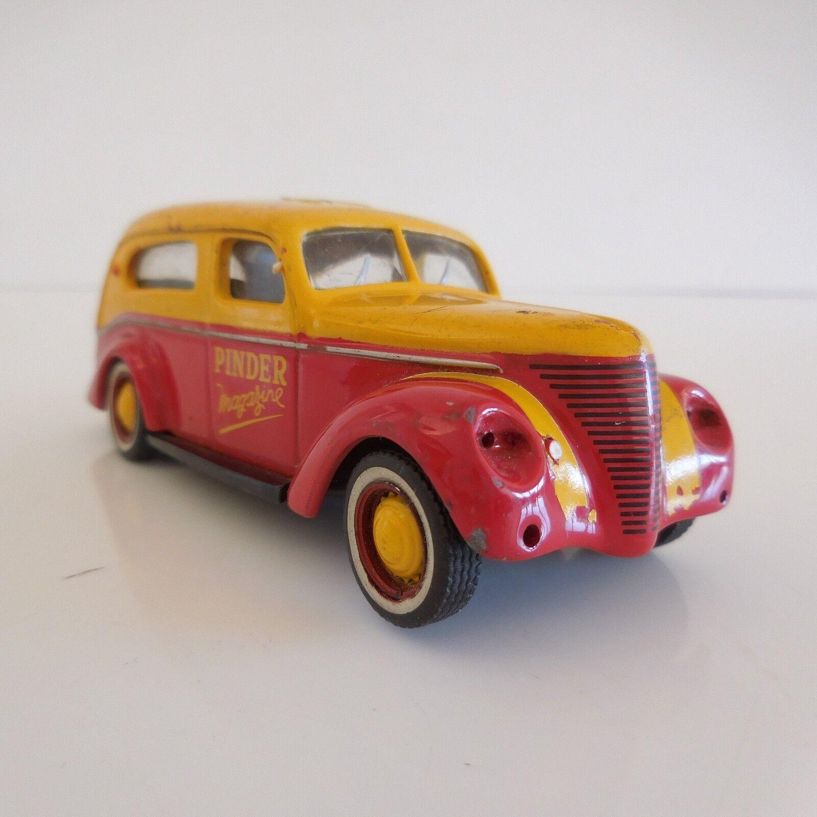 Voiture miniature PINDER MAGAZINE MATFORD V8 F vintage collection