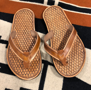 cute-Hand-tooled-Flip-Flops-rubber-sole