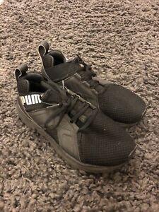 Ladies puma trainers size 3 Black Teen