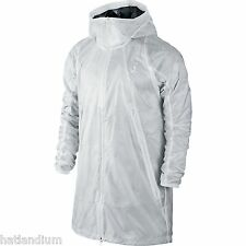 NIKE AIR JORDAN AJ VII PINNACLE RAINCOAT PACKABLE JACKET MENS 3XL WHITE NEW $200