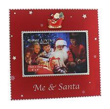 "Photo Picture Frame Me & Santa 6x4"" NEW  24610"