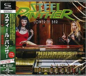 STEEL-PANTHER-LOWER-THE-BAR-JAPAN-SHM-CD-BONUS-TRACK-F56