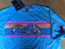 80's T&C Surf Designs T-shirt Men's  Large  Sky Blue