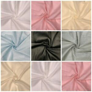 Cotton Muslin Fabric 100% Soft Wedding Craft Cheesecloth Material 150cm Wide
