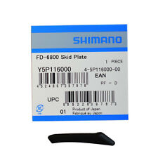 Shimano FD-6800 Ultegra Front Derailleur Rubber SKID Plate Replacement Y5P116000