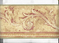 Wallpaper Border Architectural Swag Victorian Arrival