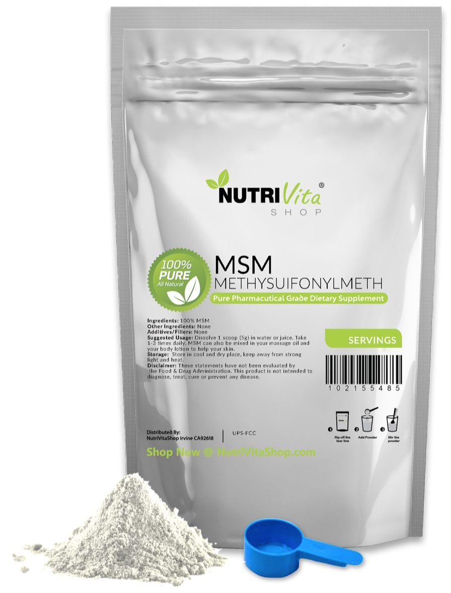 11 lb PAIN (5000g) NEW 100% PURE MSM POWDER JOINT PAIN lb & ARTHRITIS RELIEF 7fe3fe